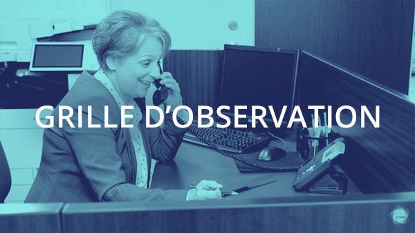 Document : Protocole téléphonique 1 – Grille d'observation