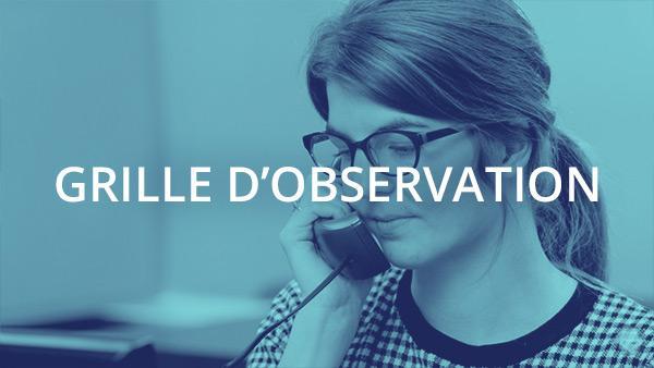 Document : Protocole téléphonique 2 – Grille d'observation