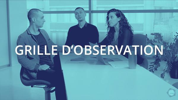 Document : Conversation d'affaires 1 – Grille d'observation