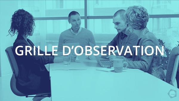 Document : Conversation d'affaires 2 – Grille d'observation
