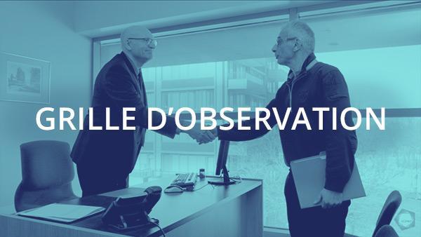 Document : Traitement de la plainte 2 – Grille d'observation