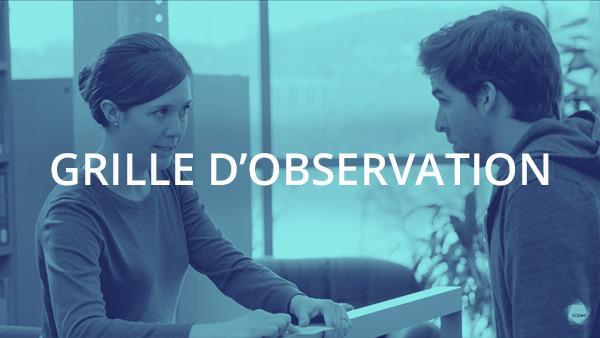 Document : Transmission de l'information et des directives 2 – Grille d'observation